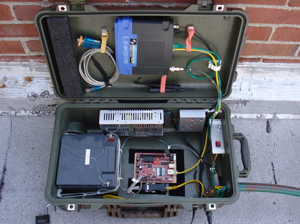 Pelican Case with Components